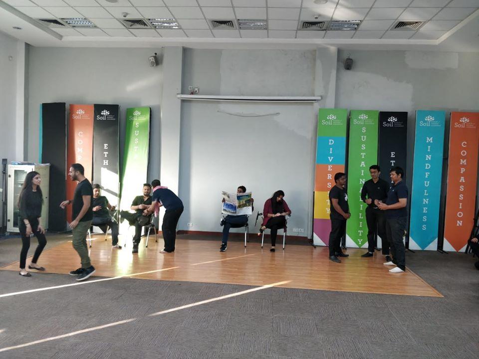 Theatre workshop SOIL Institute of Management