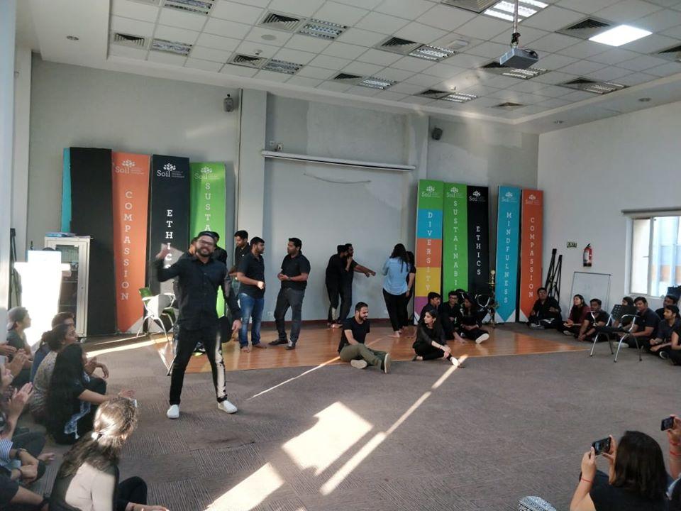 Theatre workshop at SOIL