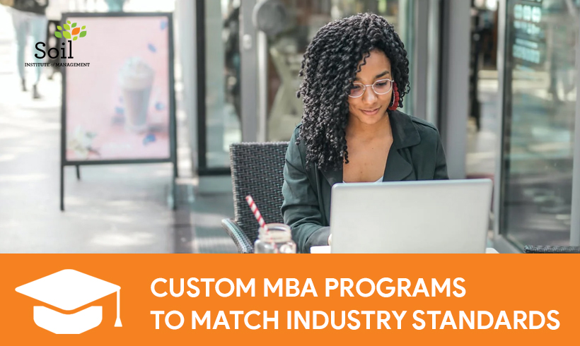 Custom MBA Programs to Match Industry Standards
