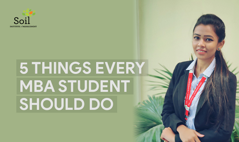 5 Things Every MBA Student Should Do