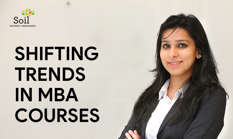 Shifting Trends in MBA Courses