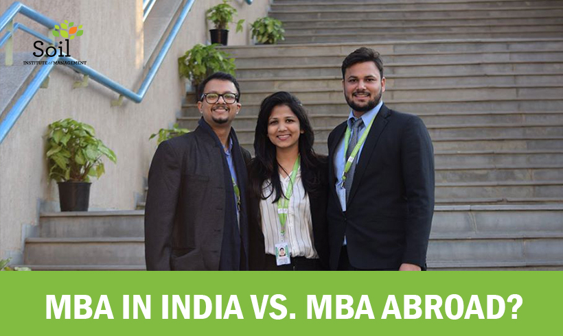 MBA in India vs. MBA Abroad?