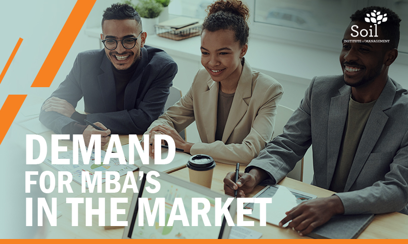 Demand for MBA's in the market
