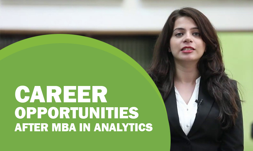 Career Opportunities after MBA in Analytics