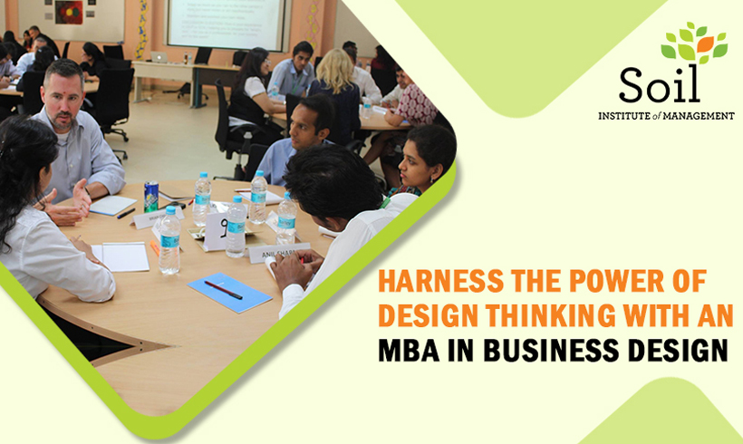 Harness the Power of Design Thinking with an MBA in Business Design