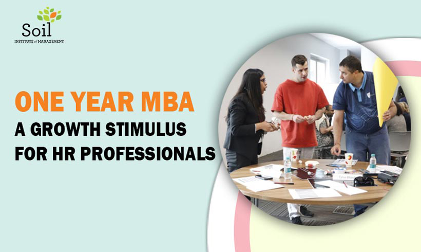 How a one year MBA in human resource management is driving growth of HR executives