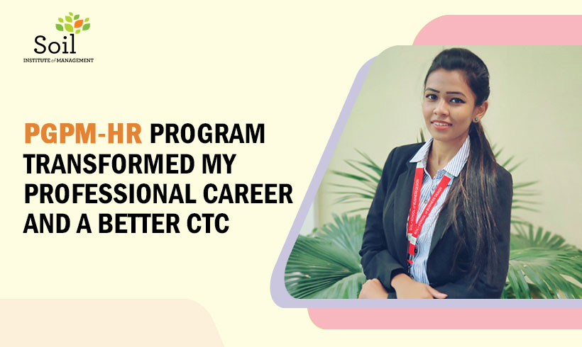 Student Testimonial-One year MBA, PGPM in HR transformed my career