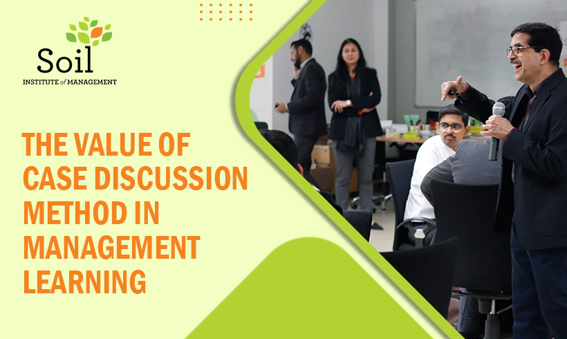 The value of case discussion method in management learning – musings of a first year student