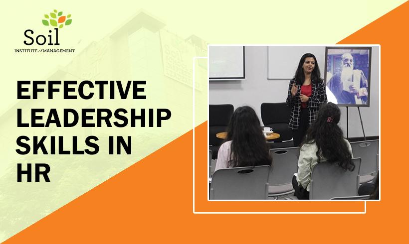Effective Leadership Skills in HR