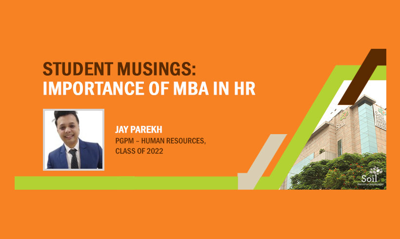 Student Musings: Importance of MBA in HR
