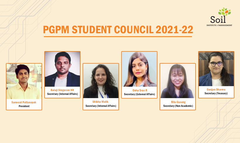 PGPM Student Council 2021-22