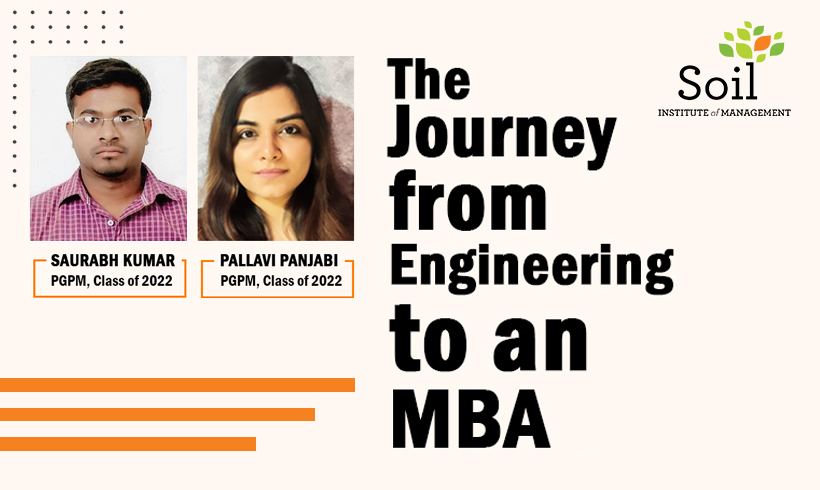 The Journey from Engineering to an MBA