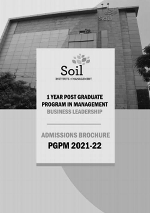 PGPM Admissions Brochure