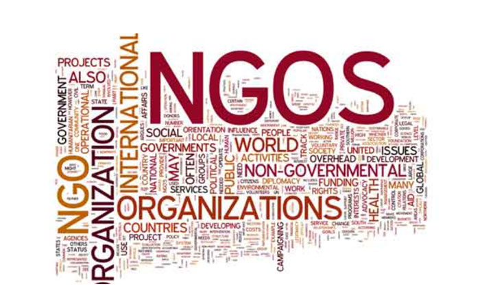 How NGOs can during distress?