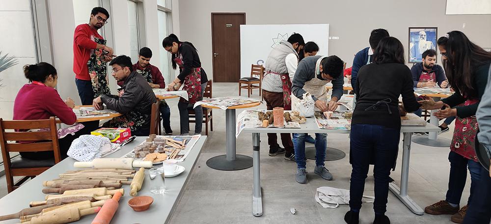 Pottery Design Workshop